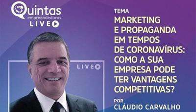 Presidente da ABAP Bahia é o convidado do Projeto Quintas Empreendedoras LIVE
