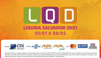 Liquida Salvador 2021: Para aproveitar o verão.