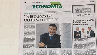 Entrevista do presidente da ABAP Bahia, Americo Neto, para o Jornal A Tarde